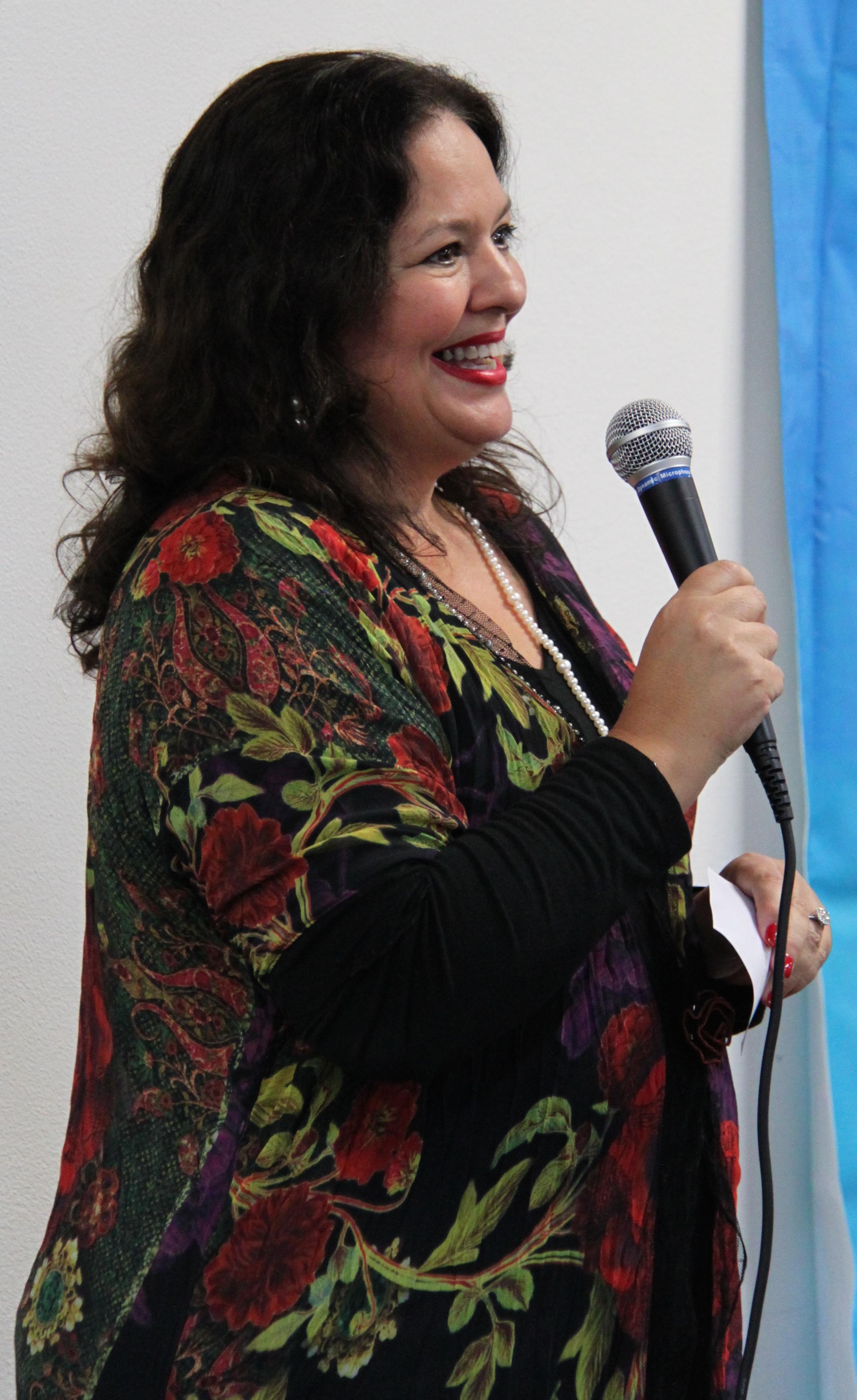 MC Actress Ruth Jordon
