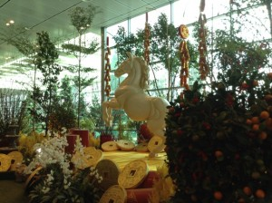 Changi Airport 'The Year of the Horse'