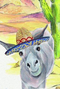 Mexico Postcard front